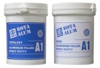 Rotabond A1-350gr, Epoxy Aluminum Putty